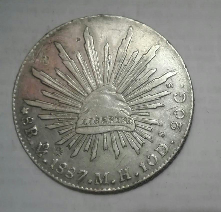 fffaa4ec911a moneda de plata de 8 reales de mexico - Numismática Xaudar
